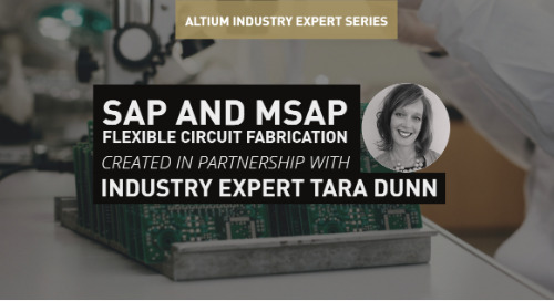 SAP and mSAP in Flexible Circuit Fabrication
