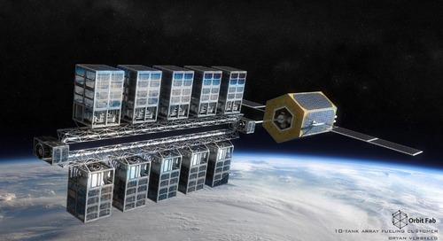 Weltraum-Tankstellen bereit für den Markt im All
