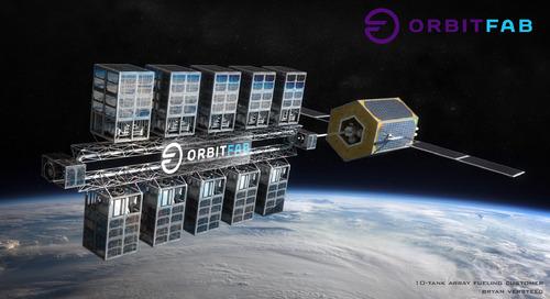 Des stations essence dans l'espace pour préparer le développement du marché spatial