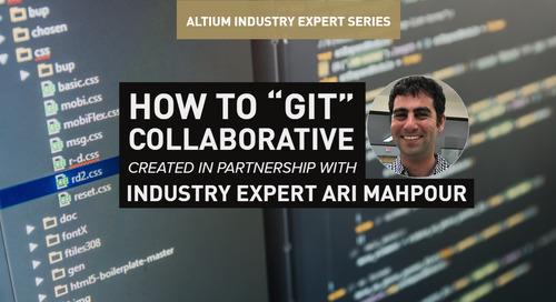 """How to """"Git"""" Collaborative with Altium Designer"""