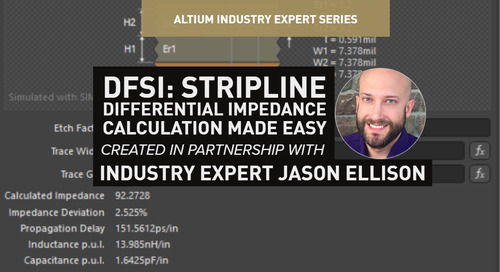 DFSI: Stripline Differential Impedance Calculation Made Easy