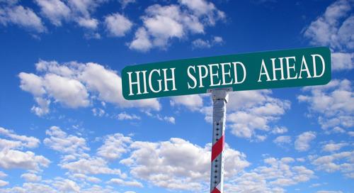 Hochgeschwindigkeitsdesigns: die wichtigsten Anforderungen im Überblick