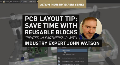PCB Layout Tip: Save Time with Reusable Blocks