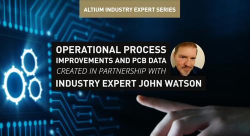 Operational Process Improvements and PCB Data Management