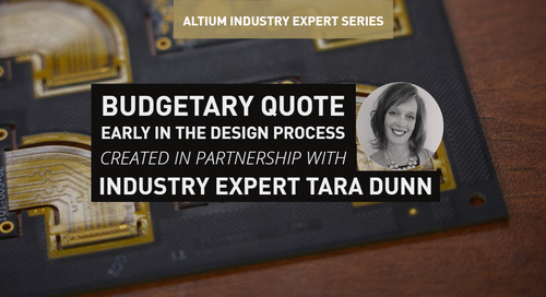 Budgetary Quote Early in the Design Process