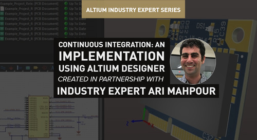 Continuous Integration: An Implementation Using Altium Designer