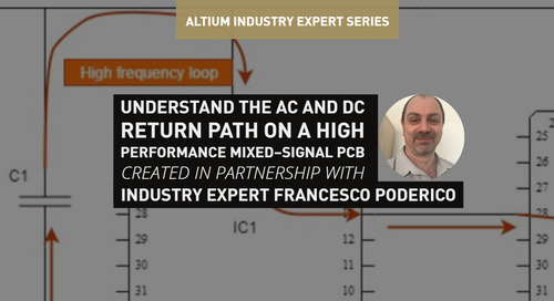 Understand the AC and DC Return Path on a High-Performance Mixed-Signal PCB