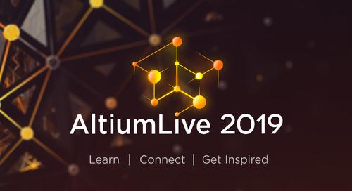 AltiumLive 2019: der perfekte Hattrick