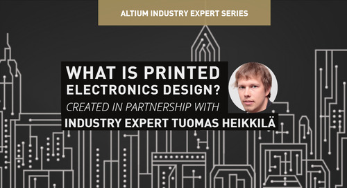 What is Printed Electronics Design?