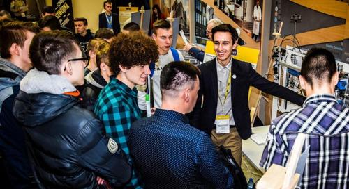 First Prize Winner at Intel International Science and Engineering Fair