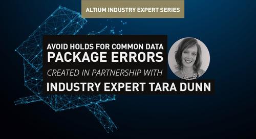 Avoid Holds for Common Data Package Errors
