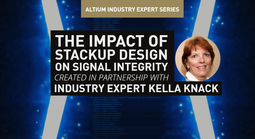 The Impact of Stackup Design on Signal Integrity