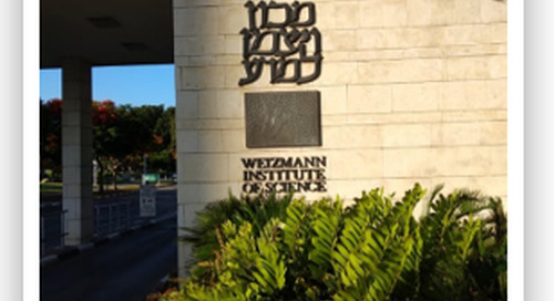 Trip to the Weizmann Institute of Science in Israel