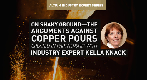 On Shaky Ground—the Arguments Against Copper Pours