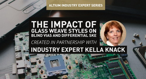 The Impact Of Glass Weave Styles On Blind Vias And Differential Skew