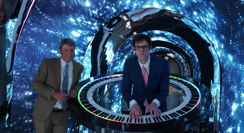 PianoArc: A Circular Piano Fit for Princes and Mega Stars