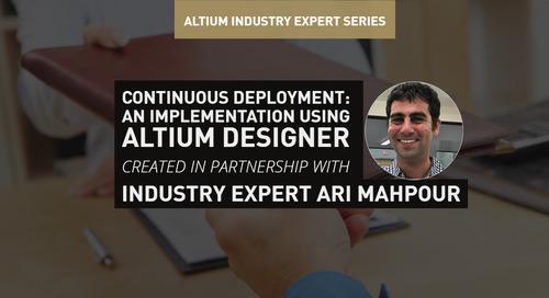 Continuous Deployment: An Implementation Using Altium Designer