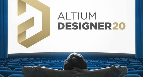 Un premier aperçu d'AltiumDesigner20