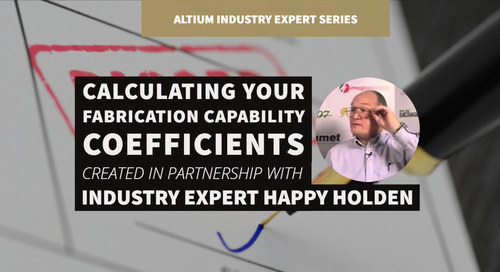 Calculating your Fabrication Capability Coefficients