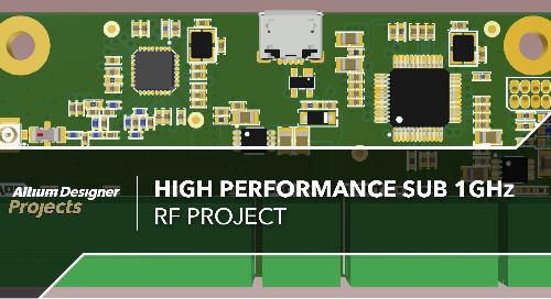 High Performance Sub 1GHz RF Project