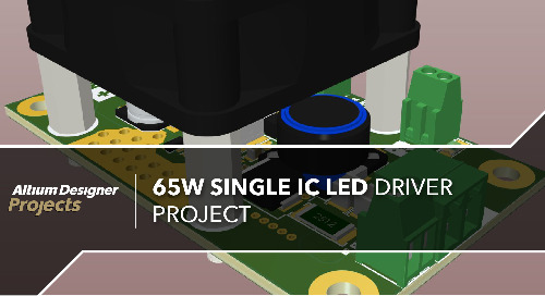 65W Single IC LED Driver Project