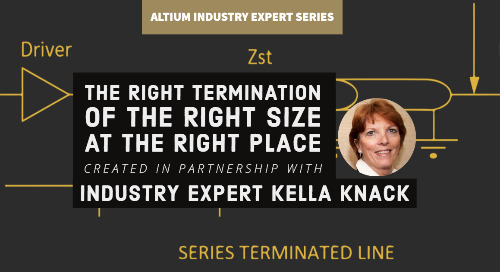 The Right Termination, Of The Right Size, At The Right Place