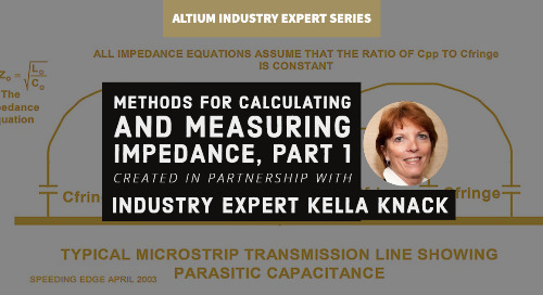 Methods For Calculating And Measuring Impedance, Part 1