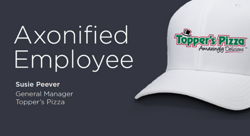 Susie Peever from Topper's Pizza