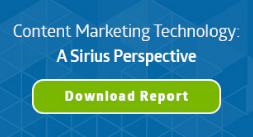 SiriusDecisions Technology Perspective on Content Marketing Platforms