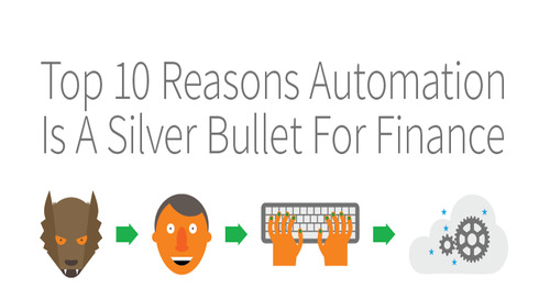 Infographic: 10 Reasons Why Automation is a Silver Bullet for Finance