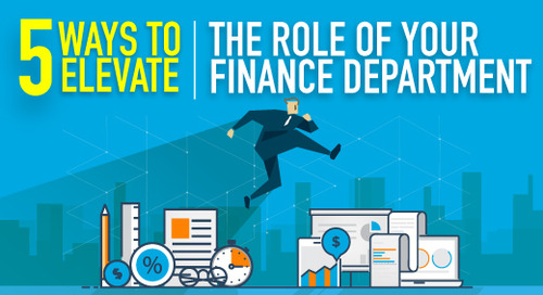 5 Ways to Elevate the Role of Your Finance Department