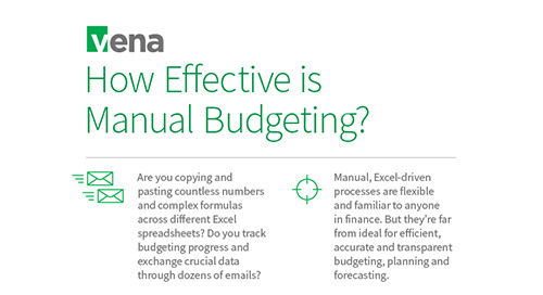 Infographic: How Effective is Manual Budgeting?