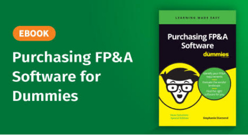 eBook: Purchasing FP&A Software for Dummies