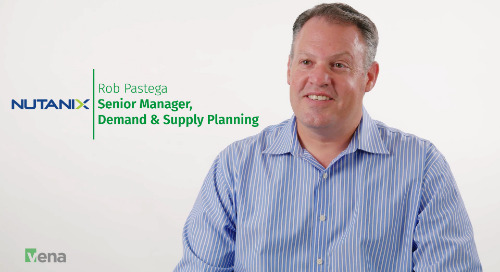 Better Supply Chain Planning - And More Fulfilling Work - At Nutanix