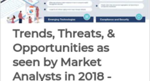 Wealth Management Trends by Market Analysts in 2018