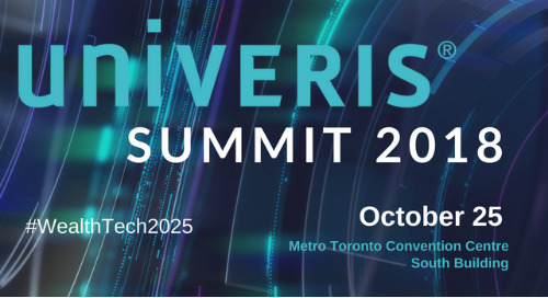 Univeris Summit 2018 set for October 25 in Toronto