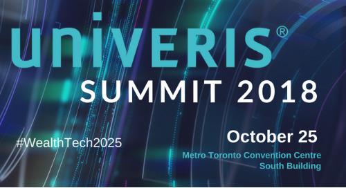 Univeris Summit 2018 set for October 25 in Toronto