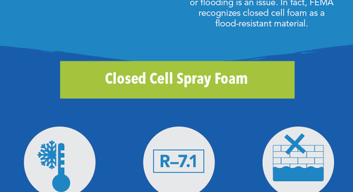 Understanding the differences between open cell and closed cell spray foam