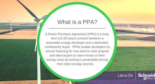 What is a Power Purchase Agreement (PPA)?