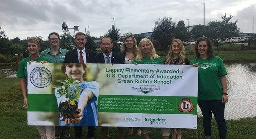 Legacy Elementary Recognized as Green Ribbon School