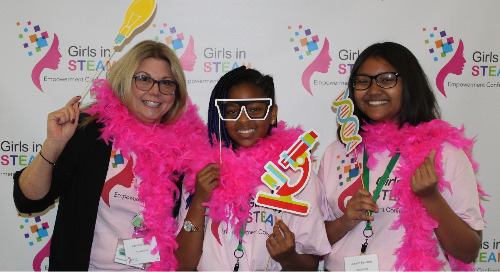 Inaugural Girls in STEAM Conference Inspires Students to Dream Big