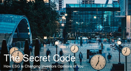 The Secret Code: ESG Changes Investors' Opinions [Webinar]