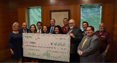 Texas A&M International University Receives $181,000 for Energy Conservation