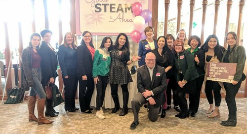 Girls STEAM Ahead Inspires Students to Dream