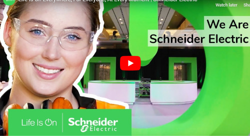 At Schneider Electric Life Is On!
