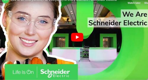 Nous Sommes Schneider Electric [vidéo]