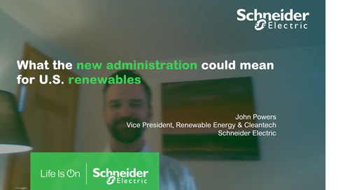 What the new administration could mean for US renewables