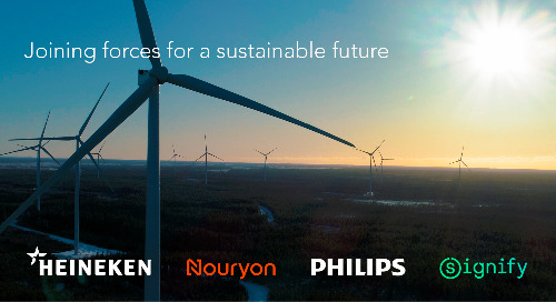 Adding Green Energy to the Grid: Philips, HEINEKEN, Nobian & Signify Form First Pan-European Consortium for Future Wind Farm