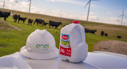 Delivering Dairy with Renewable Energy
