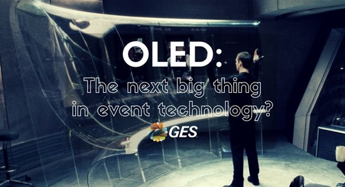 OLED: The Next Big Thing in Event Technology?